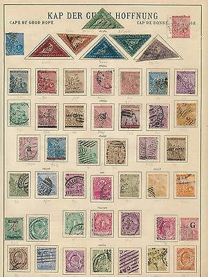 Cape of Good Hope. British Colony. FINE OLD AND CLASSIC COLLECTION