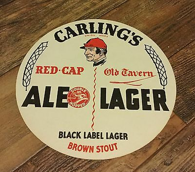 Carling Red Cap Brewery Tray Liner