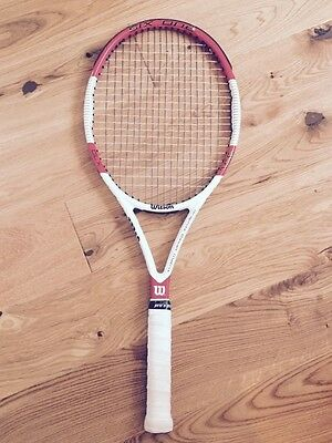 Wilson Six.One 95L Tennis Racket. Grip 2