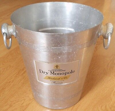Icebucket seau a champagne  HEIDSIECK DRY MONOPOLE pour magnum