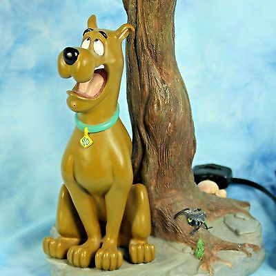 Scooby Doo Vtg 1997 Haunted Bayou Tree Lamp Hanna Barbera Warner Bros No Shade