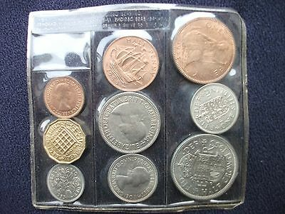 Great Britain 1953 Brilliant Uncirculated Coin Set Completely Sealed