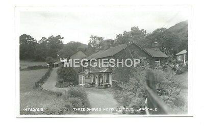 Cumbria : Little Langdale : Three Shires Hotel - Old Postcard