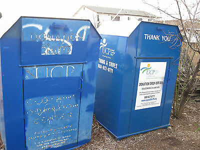 Clothing Donation bins / boxes