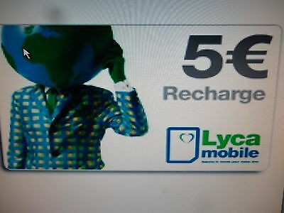 recharge lycamobile 5 euros