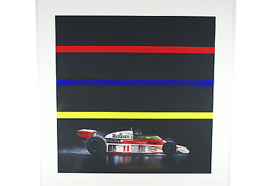 James Hunt Formula 1 McLaren M23 Ltd Edition Exclusive Print by Nick O'Neill