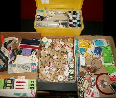 Large Lot Vintage Sewing Notions