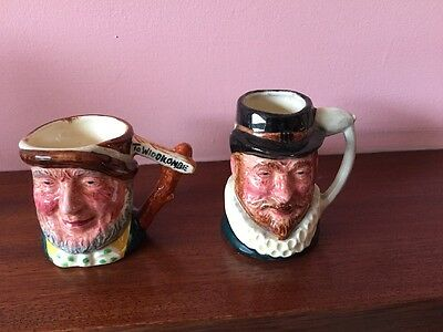 L & S Ltd Miniature Toby Jugs