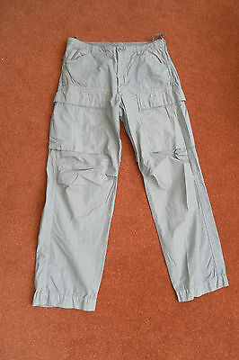Mens Paul Smith Cotton Jeans Trousers Size 32R / 34 Grey