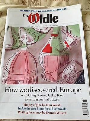 The Oldie Magazine  Issue 336 July 2016