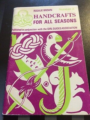 Girl Guides Book Handicrafts For All Seasons