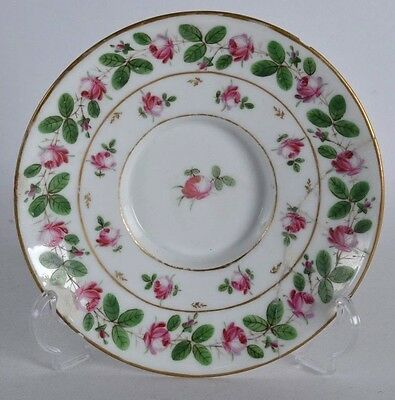 an unusual 18th / 19th century continental porcelain plate dish antique