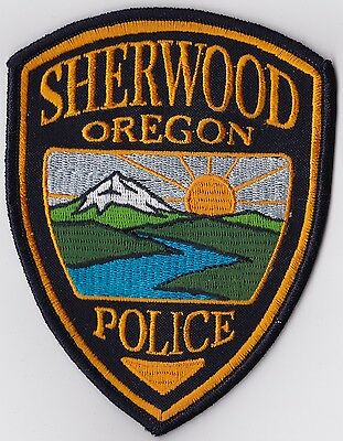 Sherwood Police Patch Oregon OR NEW!!