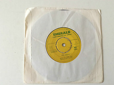 "1966 Irish 7"" Roy 'D' and the Kentucky Four - The Bridge/Changes -Emerald MD1053"