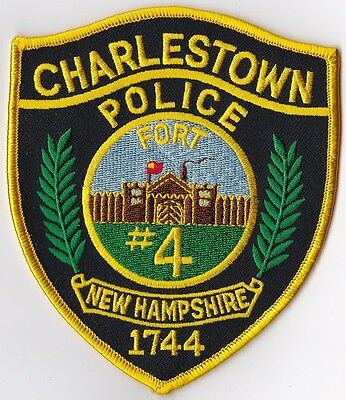 Charlestown Police Patch New Hampshire NH NEW!!