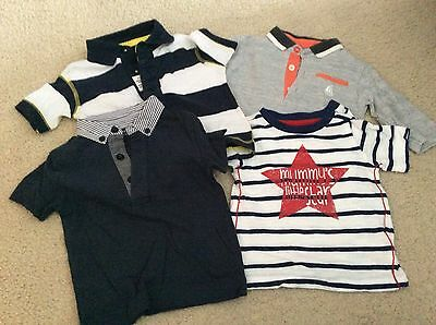 Boys T-Shirt Bundle 3-6 Months - Next And Mothercare