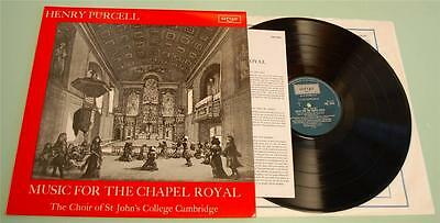 Henry Purcell - Music For The Chapel Royal - Argo ZRG 5444