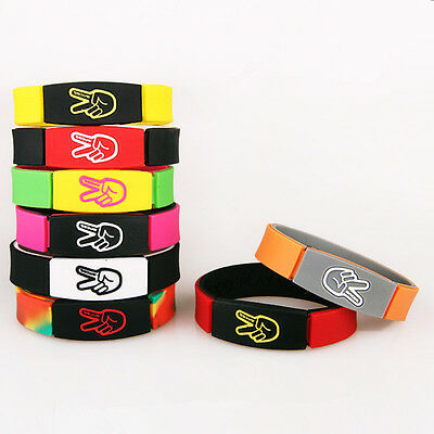 Kyrie Irving silicone bracelet men bracelet female street Sport Wristband Men's
