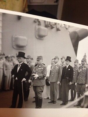 WW2 Official Navy Photo Of The Japanese Surrender