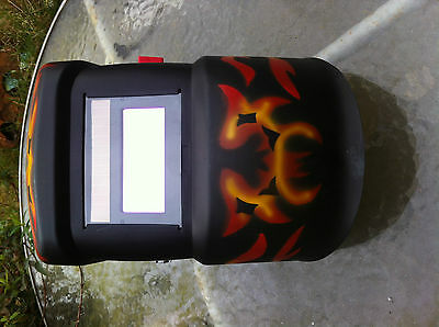 SIP T1945F Auto dimming welding mask headshield project restoration metal FLAME