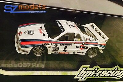 1/43 Decal Additif Lancia 037 Martini Bettega Tour De Corse 1985 Hpi Racing Ixo