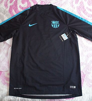 New With Tag Nike Storm Fit Champions Fc Barcelona Player Issue Barça Match Worn