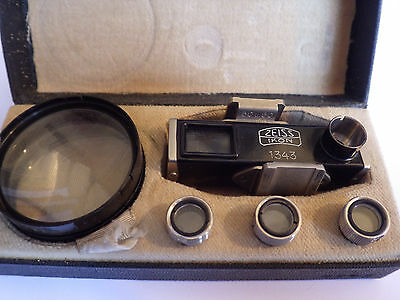 ZEISS IKON CONTAMETER 1343 CLOSE-UP SET. FOR CONTAX I - II – III Brand New !