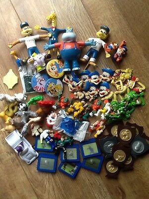 Collection Of Cereal Packet Gifts Mainly Kelloggs