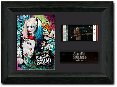 Suicide Squad 35 mm Framed Film Cell Display Stunning Collectible Harley Quinn 2