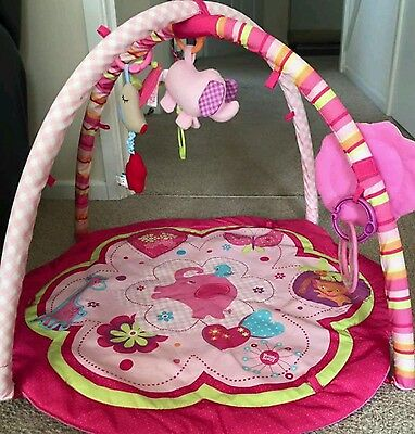 Lovely pink baby gym / play mat