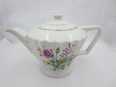Cute Tea Pot With Floral Design Made In Japan