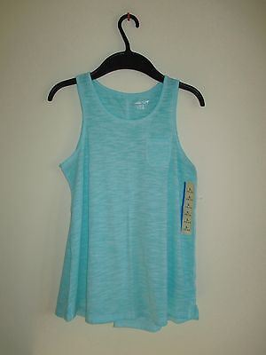 New! Cherokee Bright Blue Casual Tank Top Shirt! Girls Size Large! 10/12