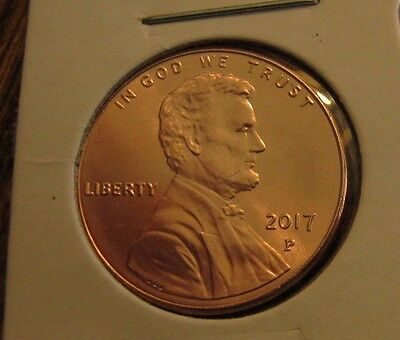 2 -Coin Lot- 2017 P's Shield Lincoln Cents -Both  Coins- Are 2017- P's Ships Now