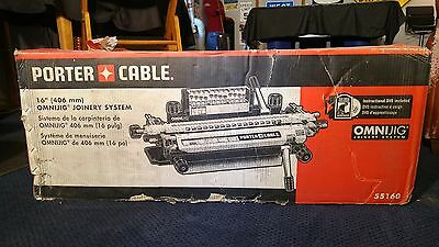 "Porter Cable 16"" (406 mm) Omnijig Joinery System 55160 NIB"