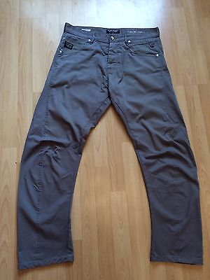 Men's Jack&Jones Canvas Jeans Size34w 32l