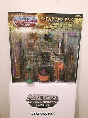 Masters of the Universe Classics MOTUC Weapons Pak Great Wars Assortment Pack