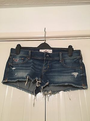 Ladies Hollister Denim Shorts Size 9 W29