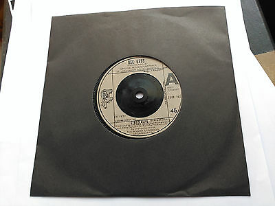 Single Bee Gees - Stayin' Alive - Rso Uk 1977 Vg+