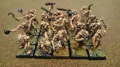 Warhammer fantasy Crypt Ghouls - Vampire Counts well painted metal
