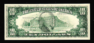 1985 $10 Federal Reserve Note OFFSET PRINT Error