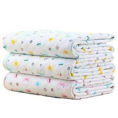 Baby Kid Mattress Waterproof Bedding Diapering Sheet Protector Menstrual Pads of