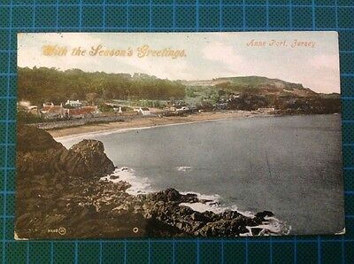 Anne Port Jersey 1907 with the season's greetings