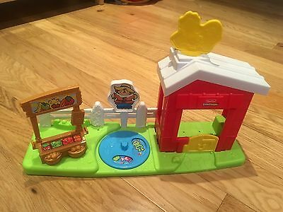 Fisher Price Little People Farm *no Figures*