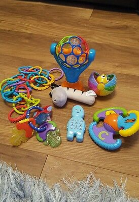 BARGAIN baby toys rattles squeakers bundle noise and sound learning