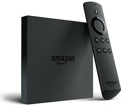 New Amazon Fire Smart TV with 4K Ultra HD Box with Remote Control 8GB Memory