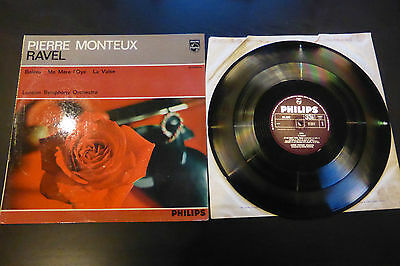 Ravel Bolero Pierre Monteux Philips Stereo ED1 SAL 3500 UK Rare LP