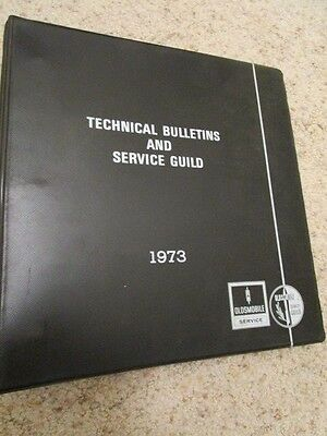 1973 Oldsmobile Training Manual Monthly Updates & Technical Bulletins