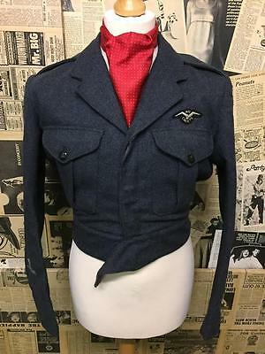 WW2 Air Cadets Air Training Corps Military Battledress Blouse Size No 10 Small