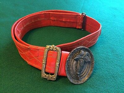 Masonic Belt For Sword 34 Inches