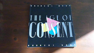 BRONSKI BEAT The Age Of Consent 1984 UK vinyl LP Record  Excellent Condition